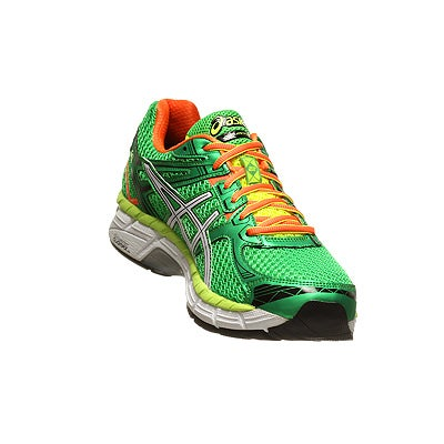 ASICS GT 2000 2 Men's Shoes GreenWhiteOrange 360° View