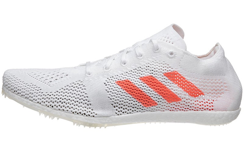buy popular 60e1a b8b90 ... Prime Running Spike Shoes  adidas Originals Adizero Avanti Track Shoe,  WhiteInfraredMetallicSilver, 11.5  adidas adizero avanti ...