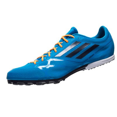 adidas adizero MD 2 Men\u0027s Spike Solar Blue 360� View | Running Warehouse.