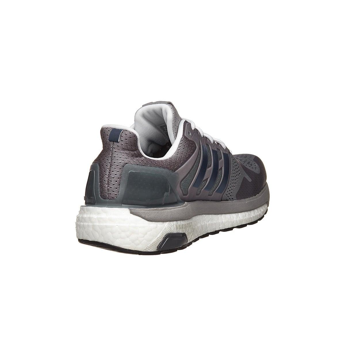 ba337ccd6cc25 adidas Supernova ST Aktiv Men s Shoes Grey Red 360° View