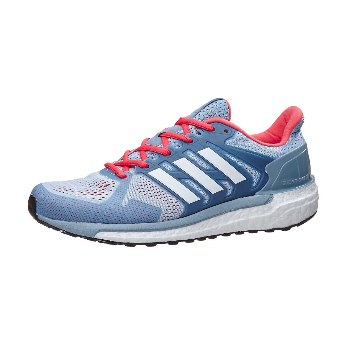 adidas Supernova ST Women s Shoes Easy Blue Coral 360° View ... 442589296