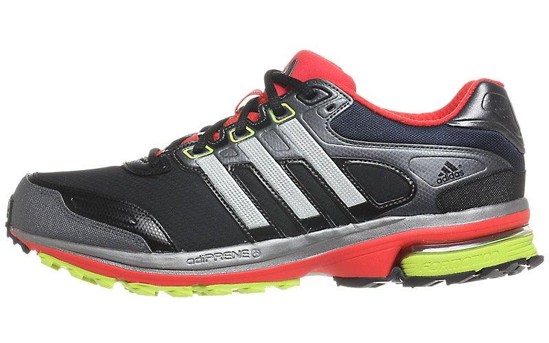 adidas Supernova Glide 5 ATR Men s Shoes Blk Sil Red 360° View ... c7a8a0063