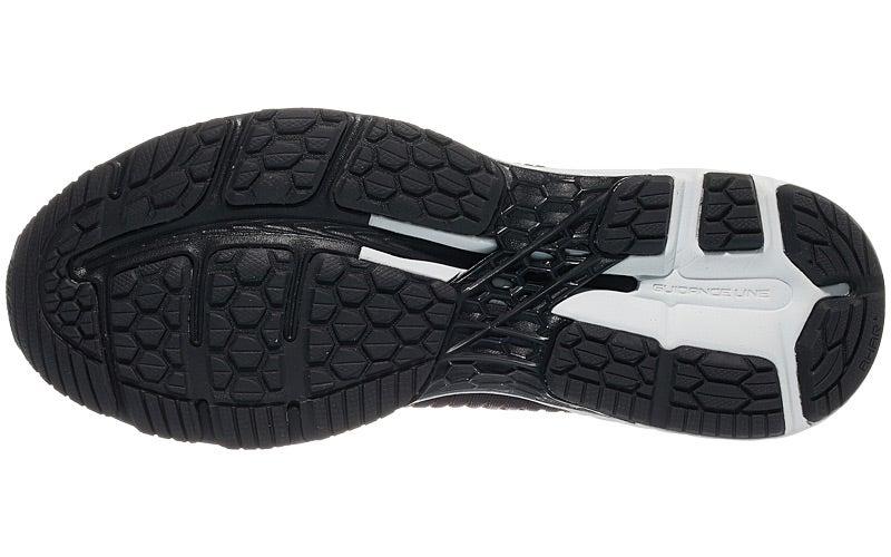 ASICS Gel Kayano 25 Men's scarpa BlackClassic Red 360° View