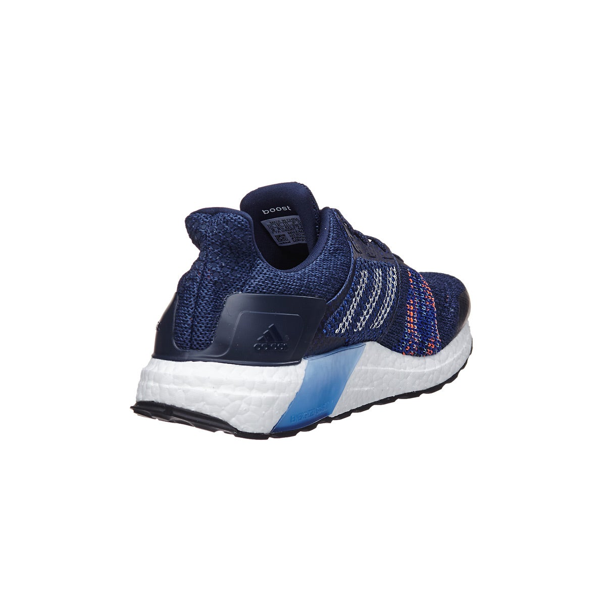 ffc3609226b adidas Ultra Boost ST Men s Shoes Noble Indigo White 360° View ...