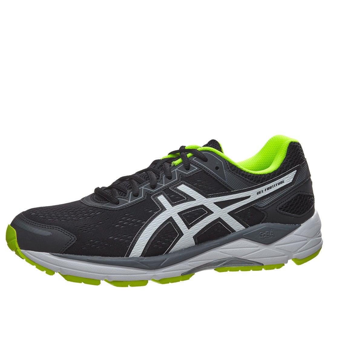 ASICS Gel Fortitude 7 Hommes Chaussures Chaussures 360 Noir/ Blanc à/ Jaune Vue à 360 ° 3daaaa2 - dhsocialbookmrking.website