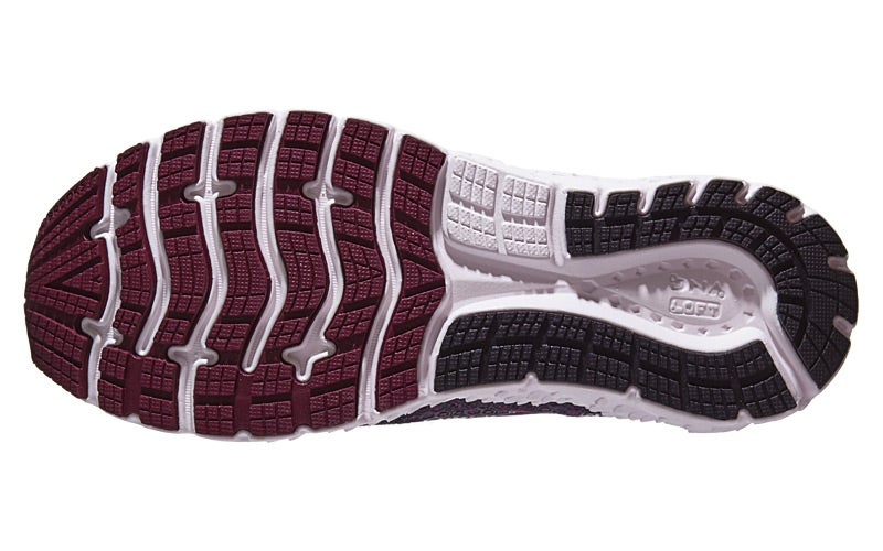 3e46c36c0b547 Brooks Glycerin 17 Women s Shoes Ebony Wild Aster Fig 360° View ...