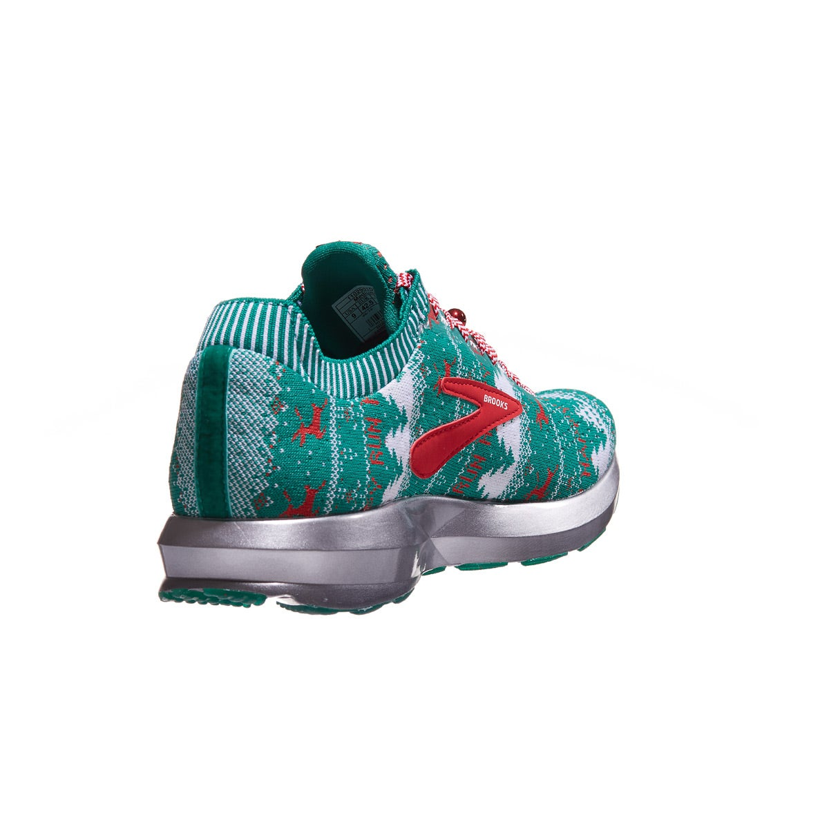 9693af39739 Brooks Levitate 2 Women s Shoes Ugly Holiday Sweater 360° View ...