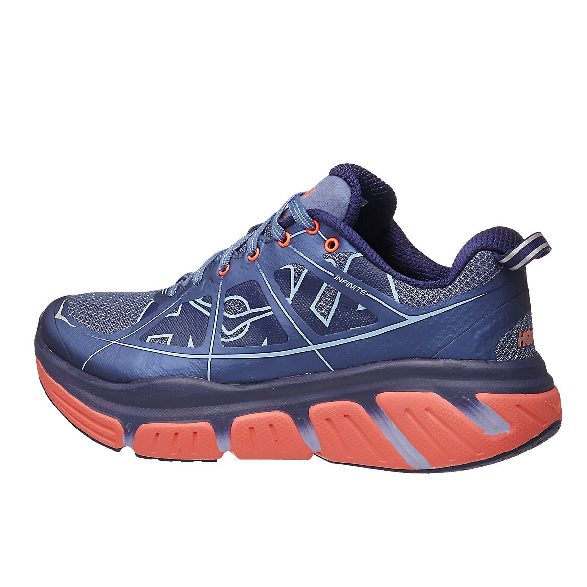 Hoka One One Infinite Women S Shoes Fjord Neon Coral