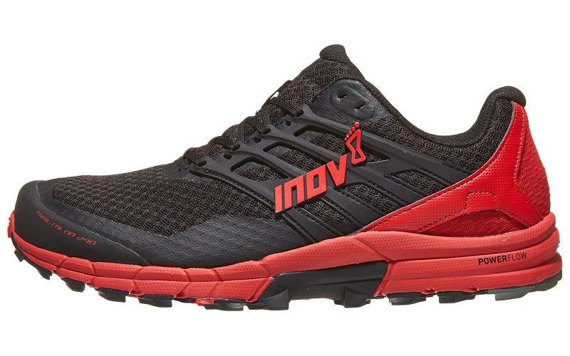 74f622df8c5126 inov-8 Trailtalon 290 Men s Shoes Black Red 360° View