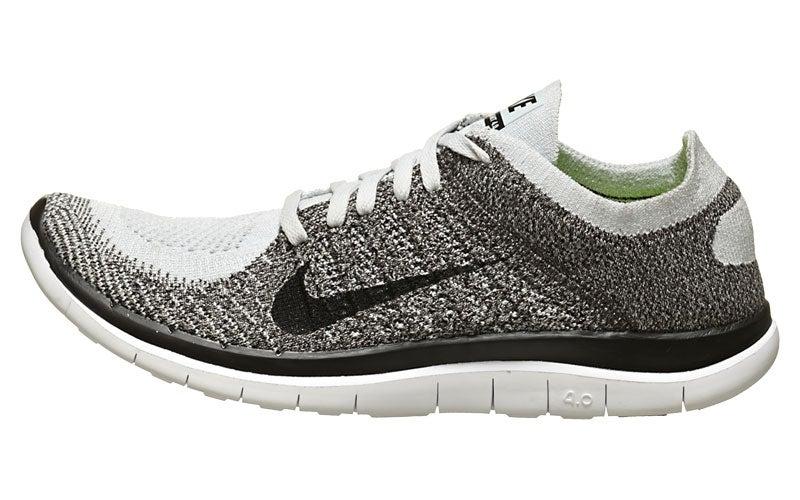 Nike Chaussures Gratuit 4,0 Flyknit Hommes Plat / Brouillard / Chr / Blk