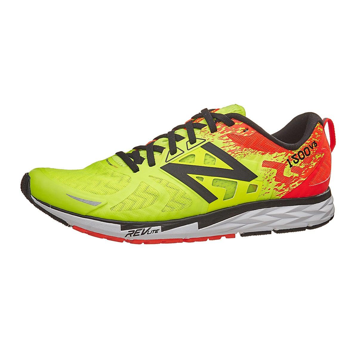 New Balance 1500 v3 Men's Shoes Lime Glo/Orange 360° View | Running ...