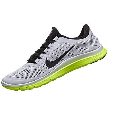 buy online 30d02 8750d ... cheap nike free 3.0 v5 mens shoes white black volt 360 view running  warehouse. d514f