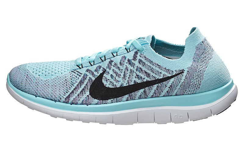 Nike Free 4.0 Flyknit Women's Shoes Copa/Blue/Purple 360° View | Running  Warehouse.