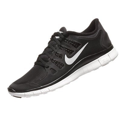 Nike Free 5.0+ Shield Mens Shoes BlackSilver 360° View  Running  Warehouse.