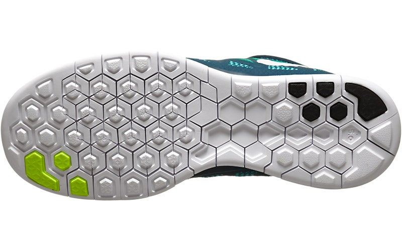 73296892cd3dd ... Nike Free 5.0  14 Men s Shoes Nightshade Green Volt 360° View