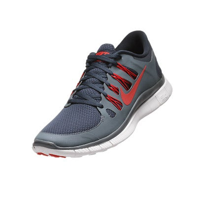 nike free 5.0+ mens shoes navy/slate/white/red