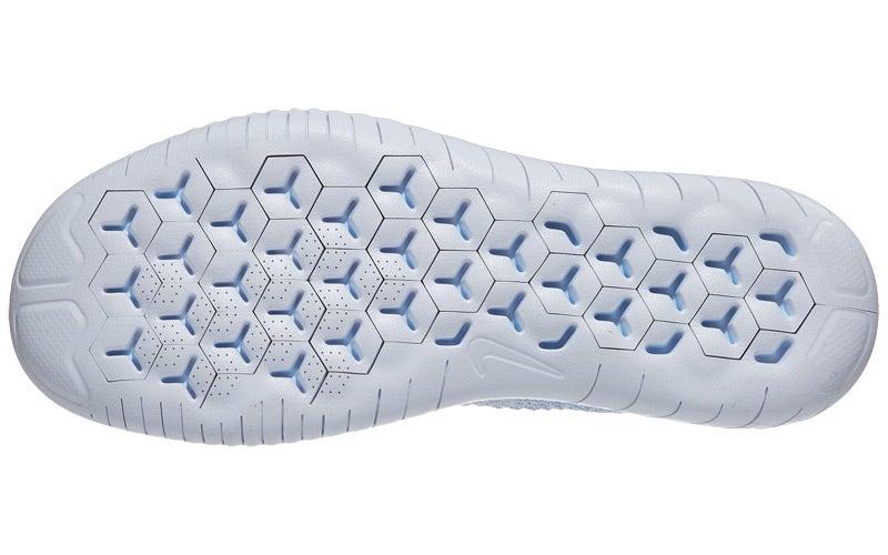 Nike Free RN Flyknit 2018 Women s Shoes Hydrogen Blu 360° View ... 00ad4c416