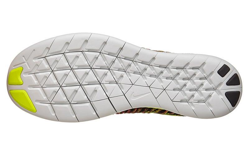 Nike Free RN Flyknit OC Men's Shoes Multi 360° View | Running Warehouse.