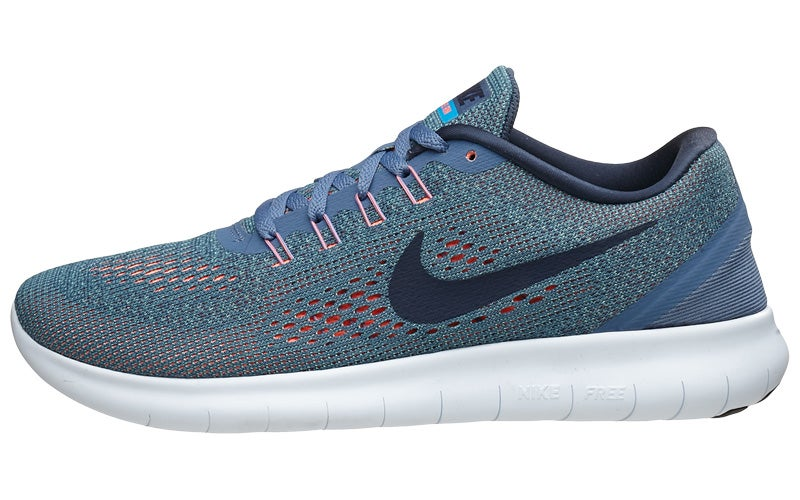 Nike Free RN Women s Shoes Ocean Navy 360° View  5c9df09789