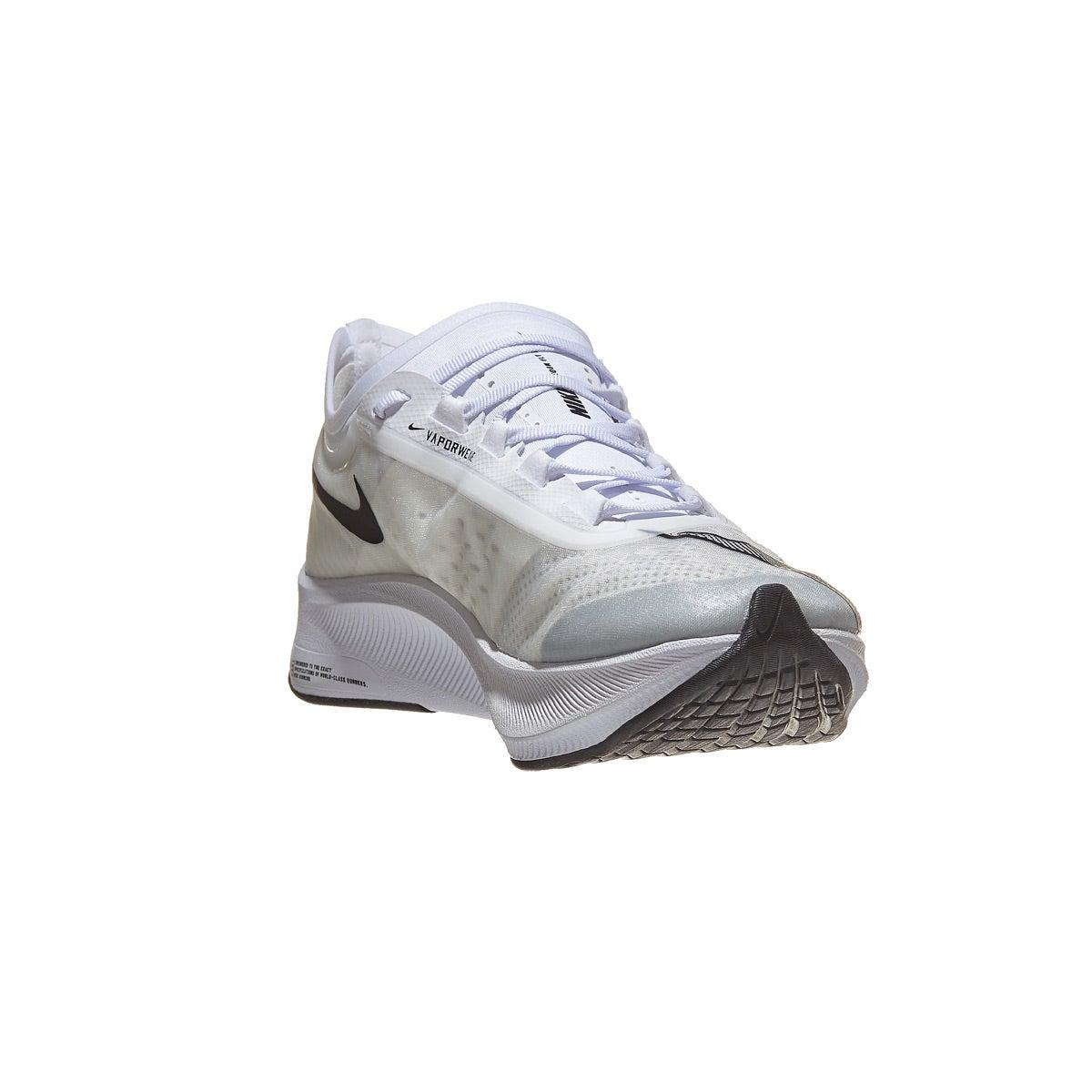 Nike Zoom Fly 3 Men's Shoes WhiteBlackGrey 360° View