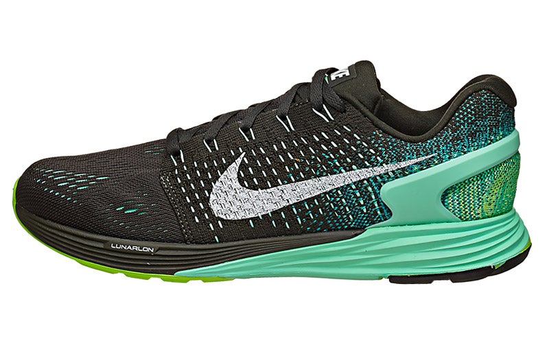 brand new eba2d eef3c Nike LunarGlide 7 Women s Shoes Sequoia Green Emer W 360° View   Running  Warehouse.