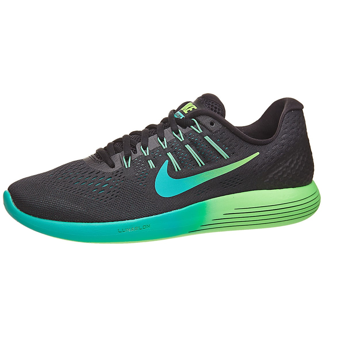 release date: 48232 17c2d ... promo code nike lunarglide 8 mens shoes black teal jade 360 view running  warehouse. 40a26