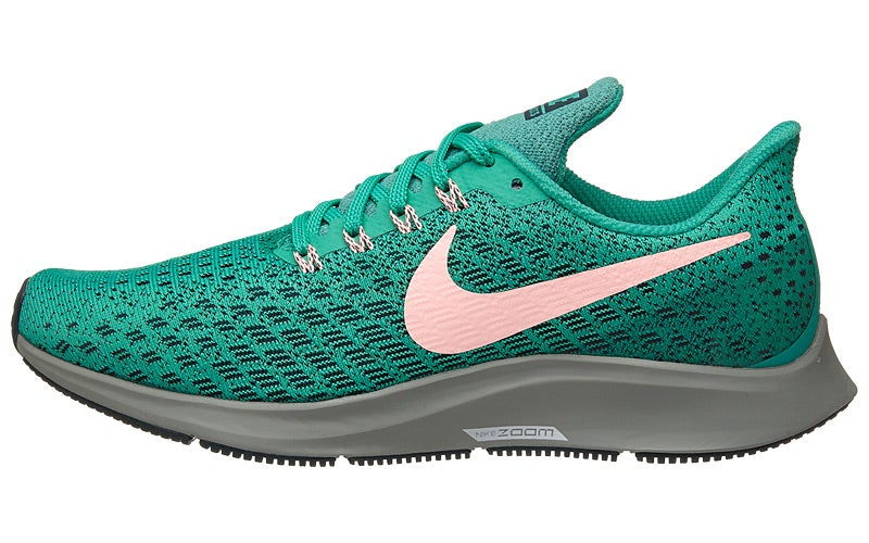 5e37a365a105 Nike Zoom Pegasus 35 Women s Shoes Kinetic Green Pin 360° View ...
