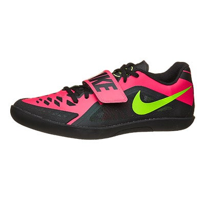 4faae91c378e8 ... Nike Zoom Rival SD 2 Throw Shoes BlkPunchGrn 360° View Running  Warehouse.