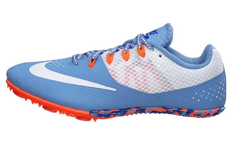 online store a8d74 3c934 Nike Zoom Rival S 8 Womens Spikes BlueOrange 360° View  Running  Warehouse.