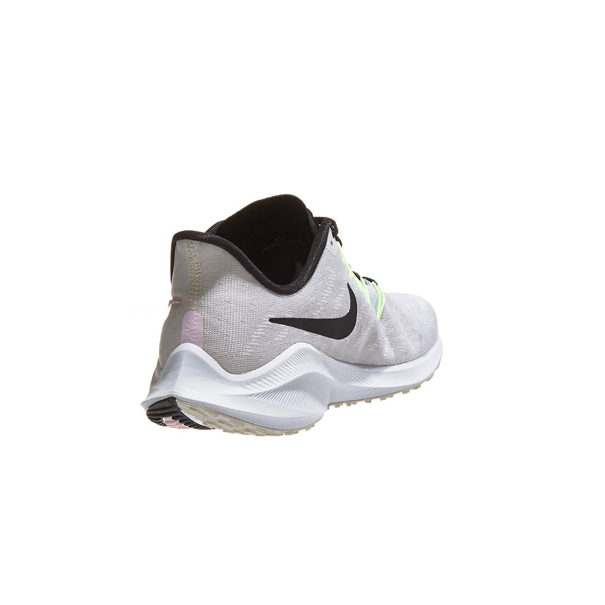 d7f89bf658991 Nike Zoom Vomero 14 Women s Shoes Vast Grey Black Pink 360° View ...