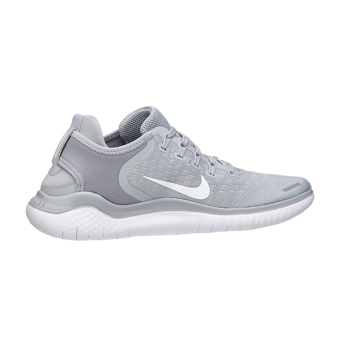 Nike Free RN 2018 Women's Shoes Wolf Grey/White/Volt 360° View | Running  Warehouse.