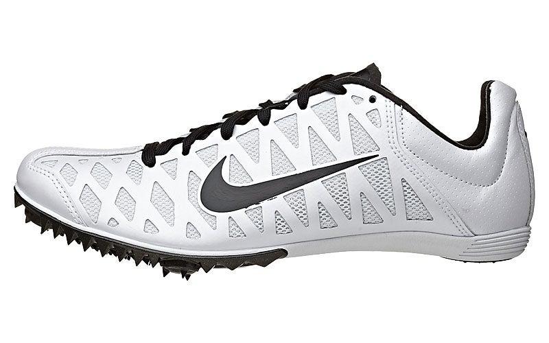 548c49450b64 Nike Zoom Maxcat 4 Spikes White Black 360° View
