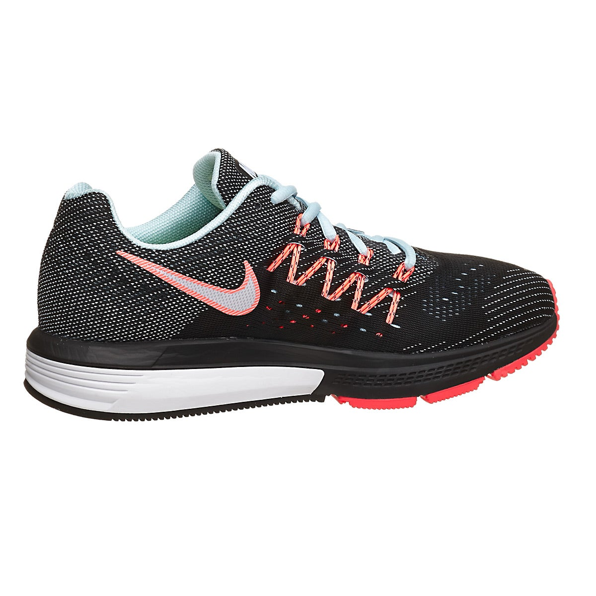 017d483fc7ce3 ... Nike Zoom Vomero 10 Women s Shoes Ice Black Lava 360° View