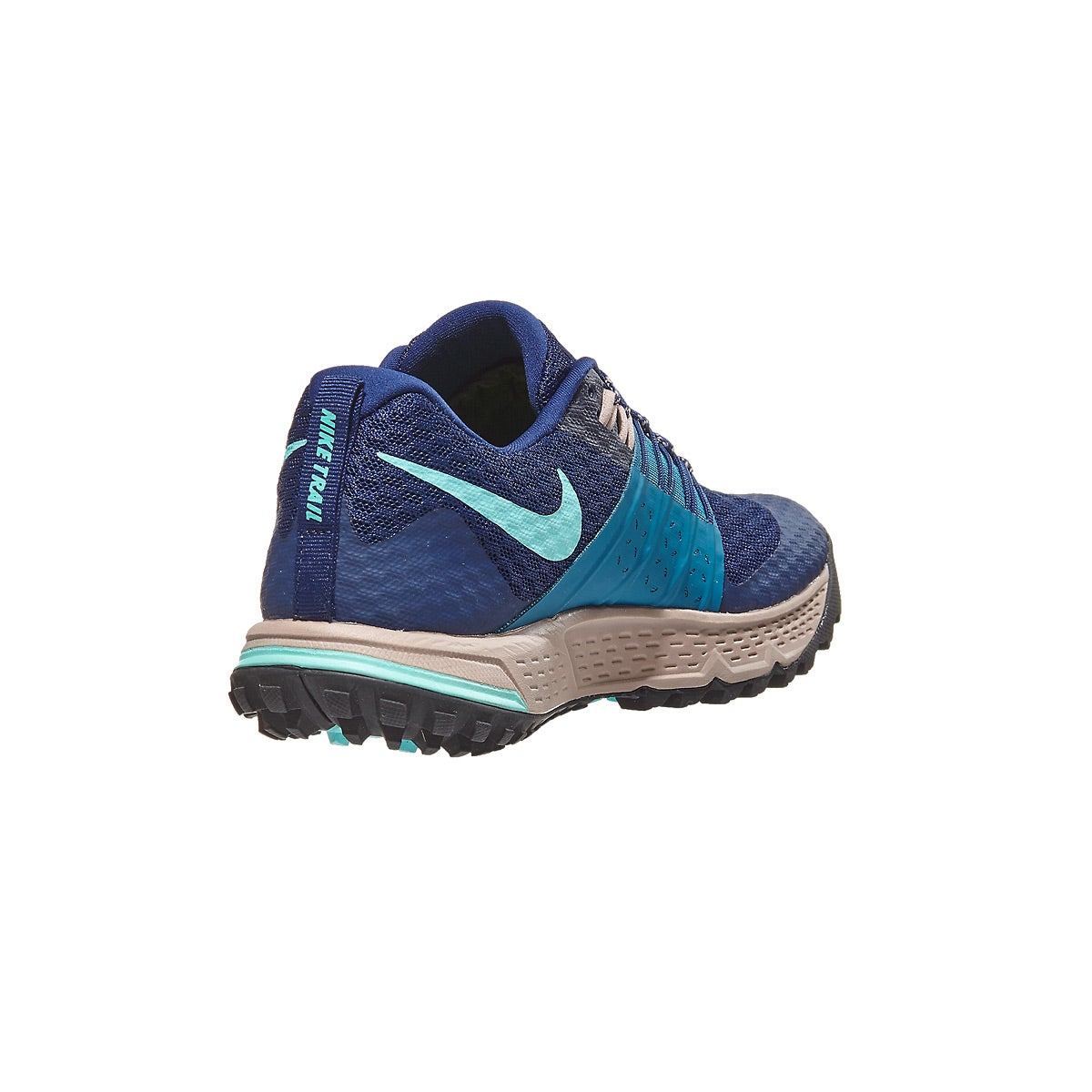01f008ce63f Nike Zoom Wildhorse 4 Women s Shoes Blue Void Green 360° View ...