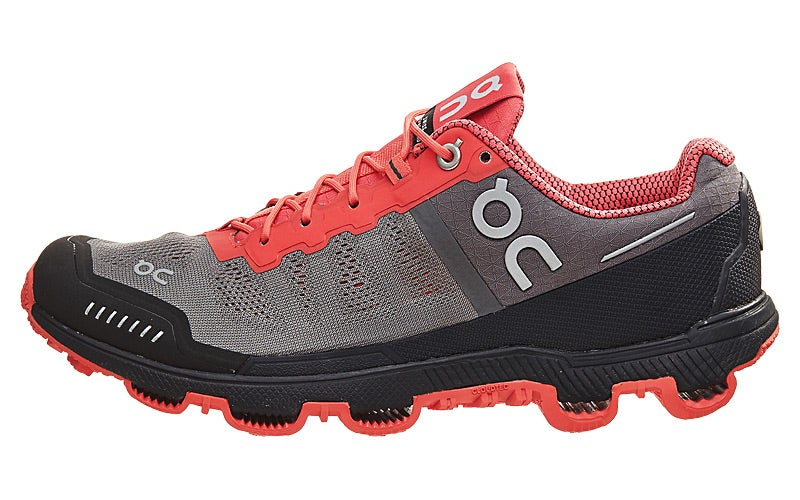 c4ce4a57df ON Cloudventure Women s Shoes Grey Lava 360° View