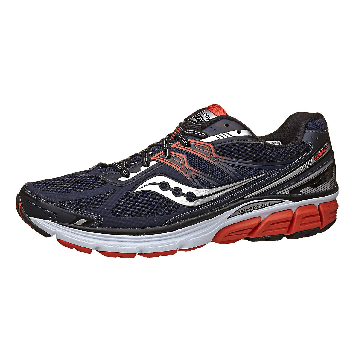 Saucony Omni 14 Men s Shoes Navy Red 360 View Running Warehouse