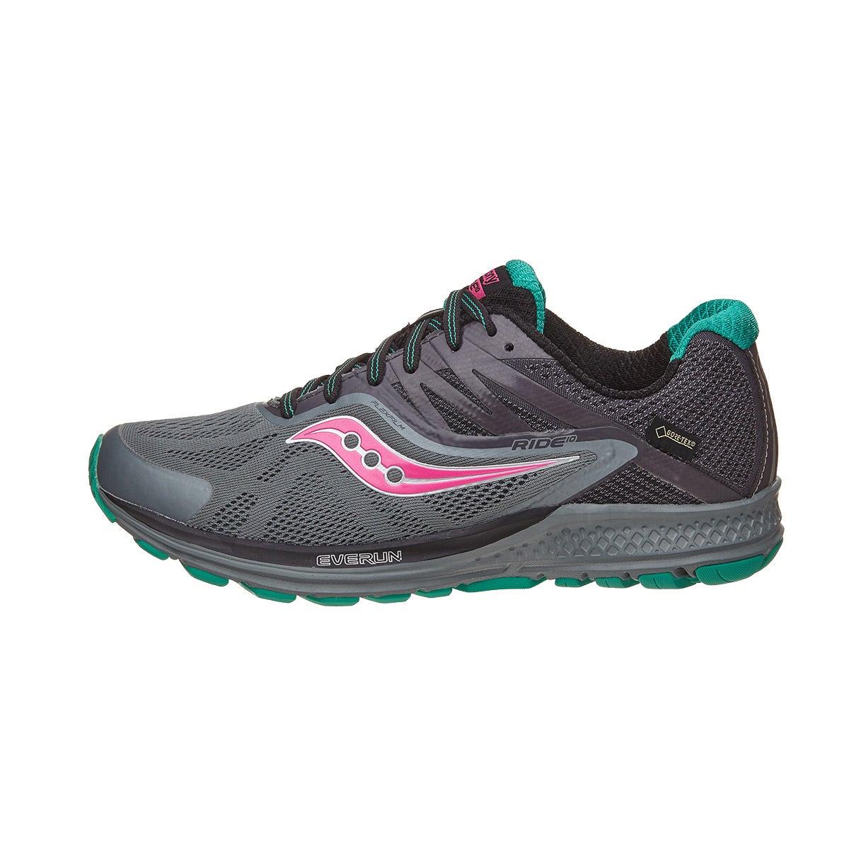 Saucony Ride 10 GTX Women's Shoes Grey