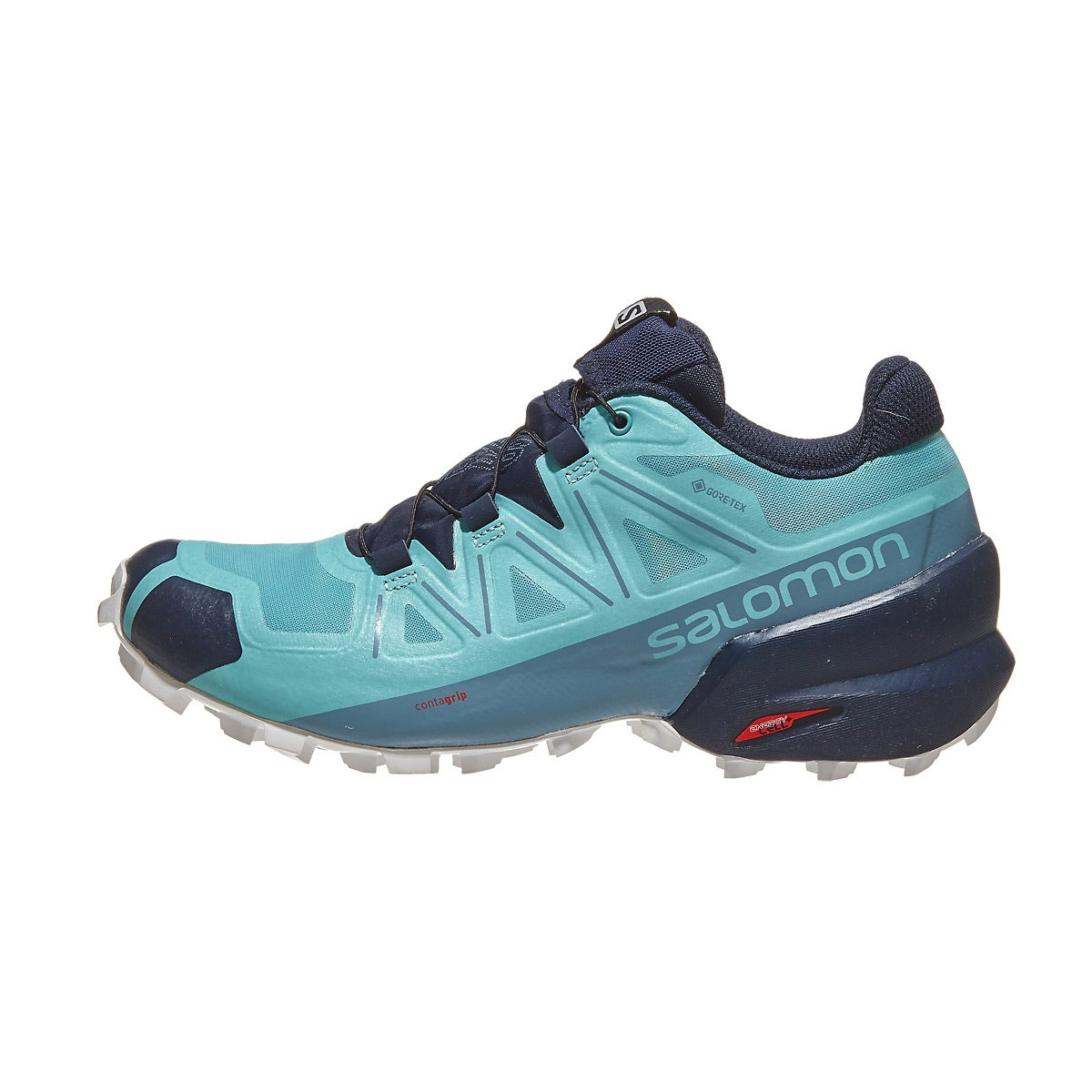 Salomon Speedcross 5 GTX Women's Shoes Meadowbrook 360° View ...