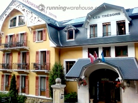Les Tresoms Hotel, Annecy France.  The Salomon XF Product Launch Meeting started here.
