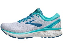 95416d06040 Brooks Ghost 11 Knit White Grey Latigo