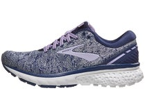 f362adef4b3e6 Brooks Ghost 11 Knit Navy Grey Purple