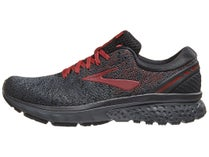 7c5626e31fd Brooks Ghost 11 Knit Black White Merlot