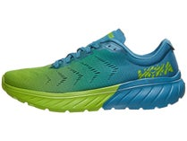 HOKA ONE ONE Mach 2. Storm Blue Lime Green 7c9f54e7f69