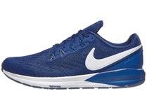 2b3505af1b5f Nike Zoom Structure 22. Blue Void Grey Blue