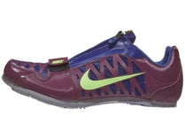 detailing 78346 44377 Nike Zoom Long Jump 4 Unisex Spikes Bordeaux Lime