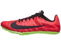 buy popular b81eb 3d9c8 Nike Zoom Rival S 9 Men s Spikes Red Orbit Black Lime