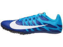 100% authentic f6002 b067d Nike Zoom Rival S 9 Men s Spikes Deep Royal White Blue
