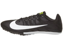 7595ff946c10 Nike Zoom Rival S 9 Kids Track Shoes Black White Volt
