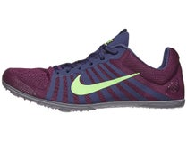 ab0a00a22c0e Nike Zoom D Unisex Spikes Bordeaux Lime Purple