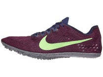 6de1dec16c90 Nike Zoom Victory 3 Unisex Spikes Bordeaux Lime Purple